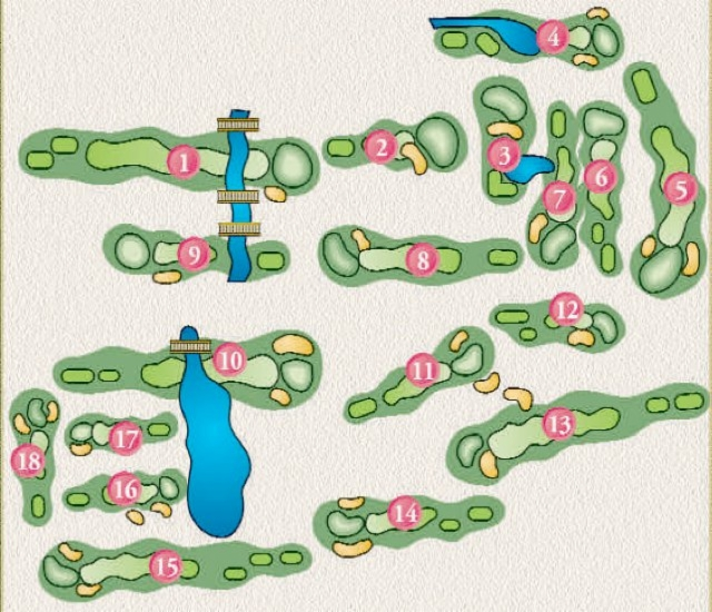 westwoods golf course layout