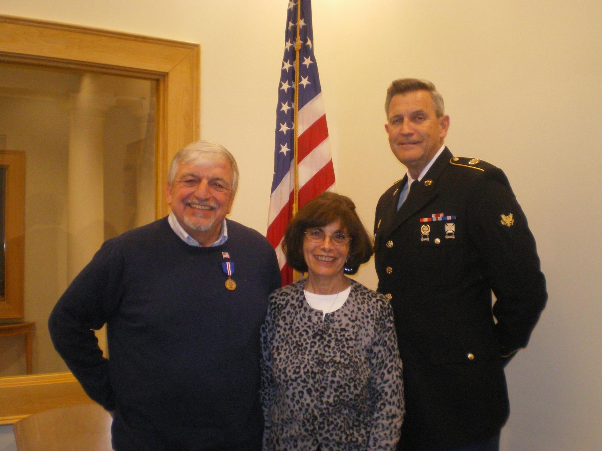Veteran's Medal Ceremony