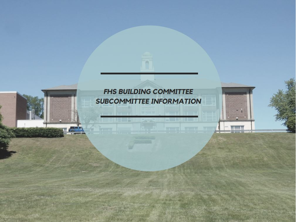 Subcommittee Information